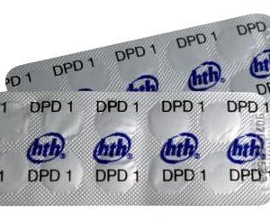 Pastille noire DPD1